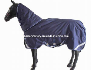 1200d Ripstop Winter Turnout Horse Rug (SMR1589) pictures & photos