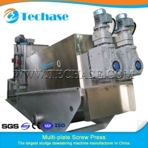 Sludge Dehydrator for Poultry Farm Sewage Treatment Machine pictures & photos