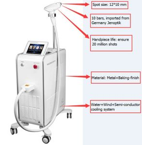Beauty Equipment on Sale 810nm Diode Laser Hair Removal pictures & photos