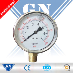 Pressure Gauge Flange/Generator Oil Pressure Gauge pictures & photos