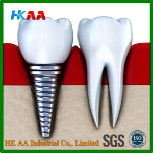 High Precision Medical Use Titanium Dental Implant Screw pictures & photos