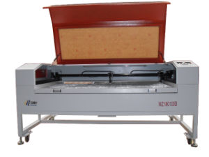 Leather Cloth Material Laser Cutting / Engraving Machine (WZ180100D)