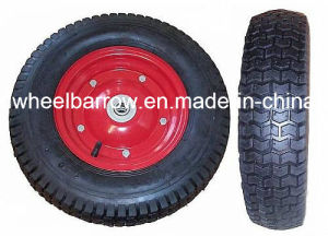Rubber Wheel (PU wheel) for Wheel Barrow 4.00-8