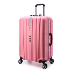 Best Selling Travel Trolley Luggage with Patch Logo and Aluminum Luggage and Luggage Sets