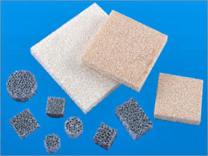 Ceramic Foam Filters for Molten Alloy Casting pictures & photos