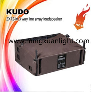 "Kudo Dual 12"" Portable Multi-Functional Speaker System pictures & photos"