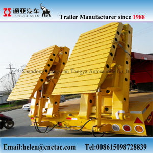 2017 Heavy Duty 60tons Low Bed Semi Trailer