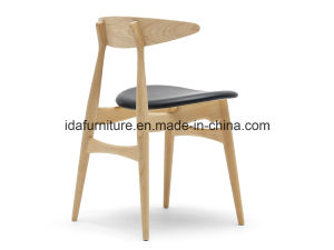 Hans J. Wegner CH 33 Chair, Wood Dining Chair, Restaurant Chair