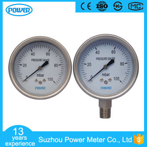 63mm Capsule Low Pressure Gauge of Range 100mbar pictures & photos