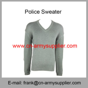 Police Uniform-Police Clothes-Police Apparel-Police Vest-Army Green Police Pullover pictures & photos