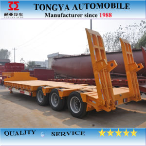Tongya Ctac 40t Lowbed Semi Trailer pictures & photos
