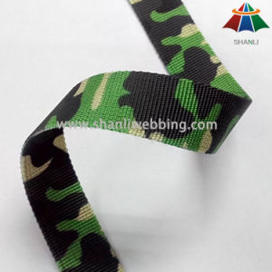 2cm Military Webbing, British Army Webbing, Polyester Sublimation Camouflage Webbing