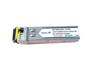 SFP Bidi 2.5g 1310/1550nm (1550/1310nm) 40km Transceiver pictures & photos