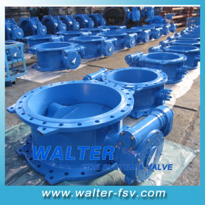 Double-Eccentric Center Flange Butterfly Valve pictures & photos