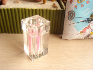 Glass Toothpick Holder for Home Promotion Gifts pictures & photos