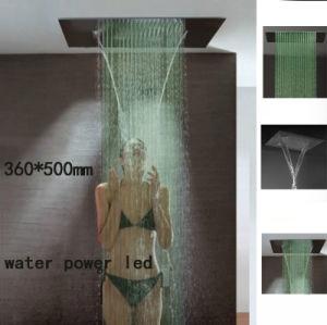 5 Star Hotel Use Led Shower Head Ceiling Mounted Rain