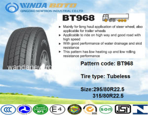 TBR Tire, Truck&Bus Tire, Radial Tyre Bt968 315/80r22.5