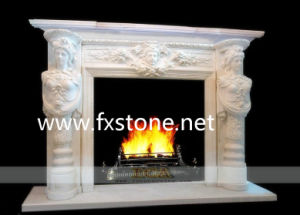 Stone Fireplace pictures & photos