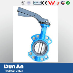 Butterfly Valve Wafer Type pictures & photos