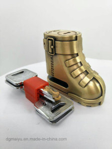 Unique Shoes Shape Motorcycle Anti-Theft Scooter Disk Brake Safety pictures & photos