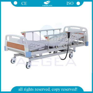 Three-Function Electric Hospital Bed with Linak Motor and Economic Price (AG-BM104) pictures & photos