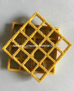 Fiberglass Molded Grating/Square Mesh 38X38X38/FRP, GRP Grating pictures & photos