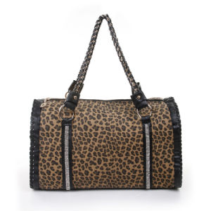 0acb7631915 China PU Leather Handbag Fashion Top Handle Boston Bag - China ...