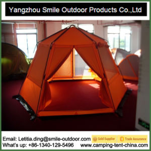 4 Person Dome Shape Asia Hexagon Camping Yurt Tent pictures & photos