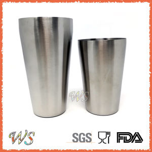 Ws-BS02 2-Pieces 24oz/16oz Stainless Steel Boston Shaker Set