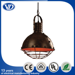 Loft Industrial Style Personality Iron Brown Pendant Light