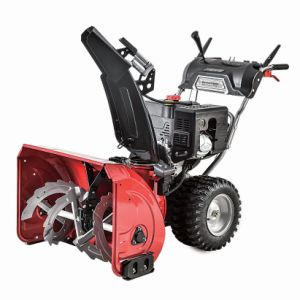 Heavy Duty Commercial 2 Stage Electric Start Gas Snow Blower with 42 Inch Clearing Width