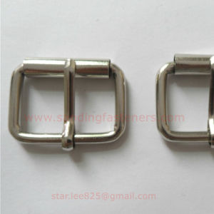 Metal Zinc Alloy Square Belt Buckle Hardware for Handbag
