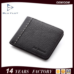 Fashion Designer Classic Wallet Men Real Leather Coin Purses pictures & photos