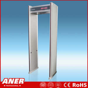 Indoor Use Economical Factory Price Walk Through Metal Detector with Sound and Light Alarm pictures & photos