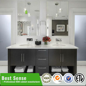 Chinese Factory Solid Wood Custom Bathroom Furniture pictures & photos