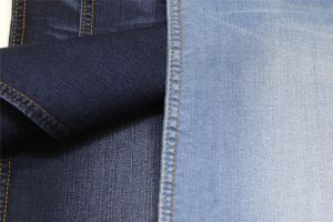 Cotton Polyester Rayon Spandex Indigo Denim pictures & photos