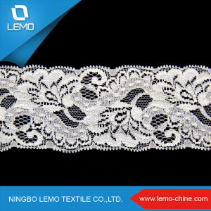 Hot Sale Breathable Heavy Polyester Tricot Hole Mesh Lace Fabric pictures & photos