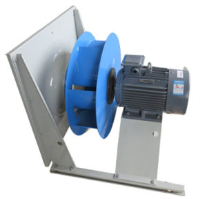 Direct Backward Steel Impeller Cooling Ventilation Exhaust Centrifugal Fan (450mm)