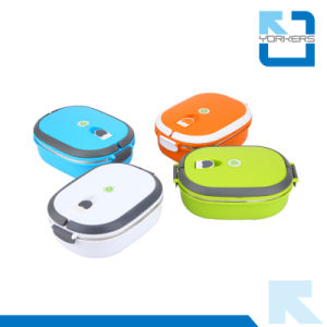 304 Stainless Steel Bento / Insulated Lunch Box with Lock pictures & photos