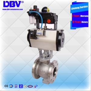 Electric Operated V Type Ball Valves (CE Approvaled)