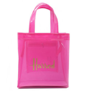 Small Size Waterproof PVC Jelly Shopping Bag (H033)