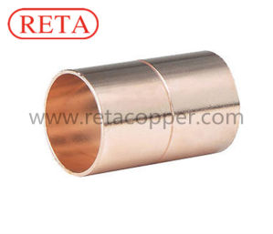 High Quality Copper Coupling with Stop pictures & photos