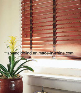 Basswood Blinds Functional Wooden Binds Slat (SGD-Blind-5163) pictures & photos