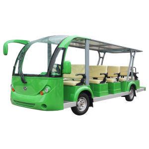 14 Passenger Electric Mini Sightseeing Shuttle Bus in Playground pictures & photos