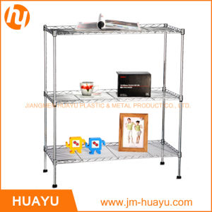 Three Tier Adjustable Storage Rack for Store Display