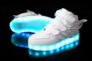 Wholesale Shoes Rechargeable LED Light up Kids Shoes