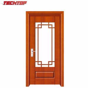 China Tpw 107 Bedroom Kitchen Glass Wooden Door Design China
