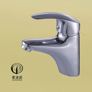 Brass Material Single Handle Basin Faucet with Chrome Plated 68911 pictures & photos