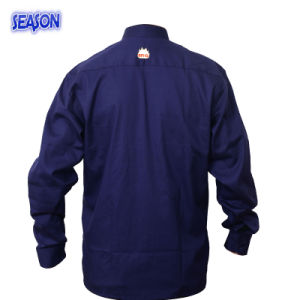 Navy Blue T/C Jacket Protective Clothing Workwear Work Clothes pictures & photos