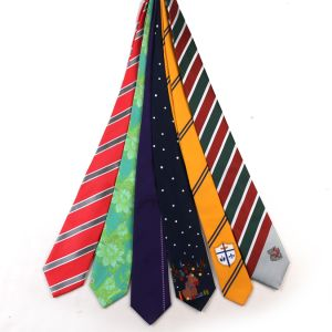 100% Silk Custom Logo Neck Tie Male Classic Striped Ties pictures & photos